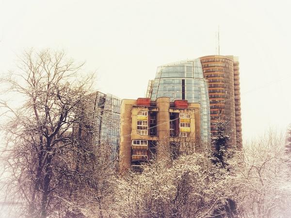 Winter in Vilnius by Sony2