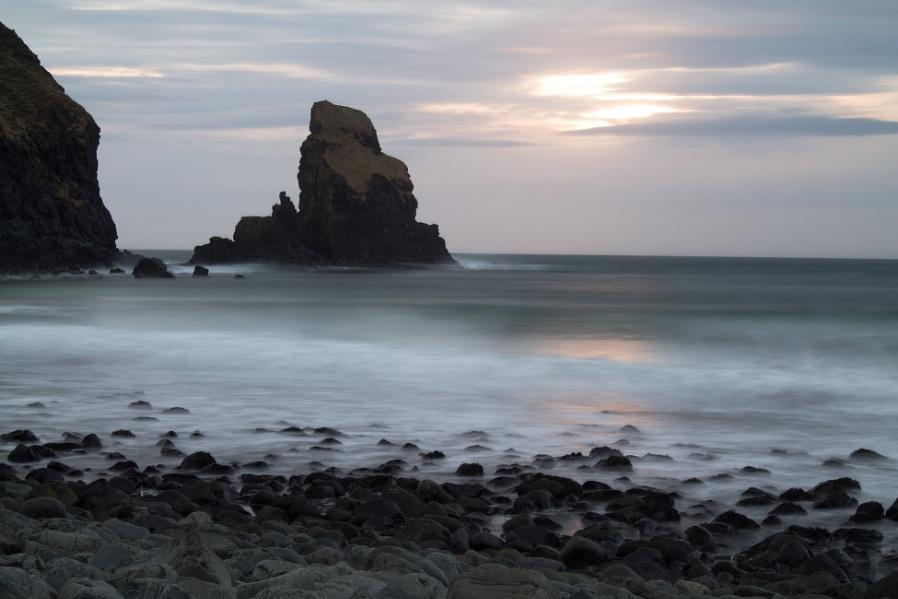 Talisker Sea Stack at Sunset