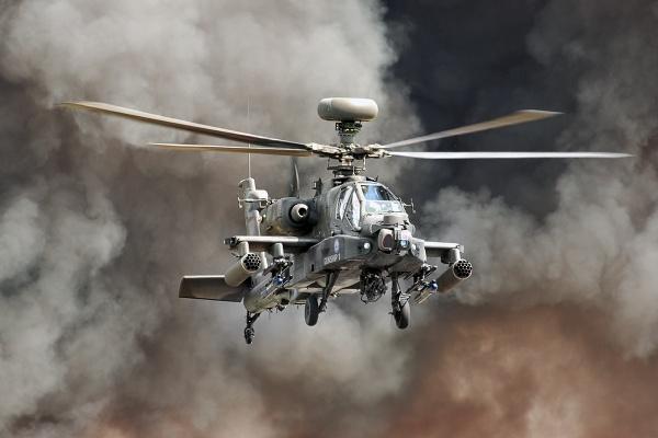 Helicopter Gunship by Photografer