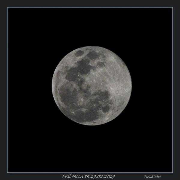 Full Moon by prabhusinha