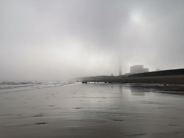 Beach in grey by arodmell