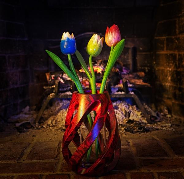 Warmed Tulips by Merlin_k