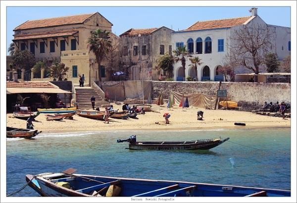 Goree Island . Senegal by papajedi