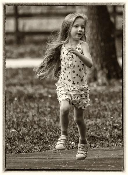Girl on the run by jbsaladino