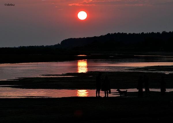 Love at Sunset by debu