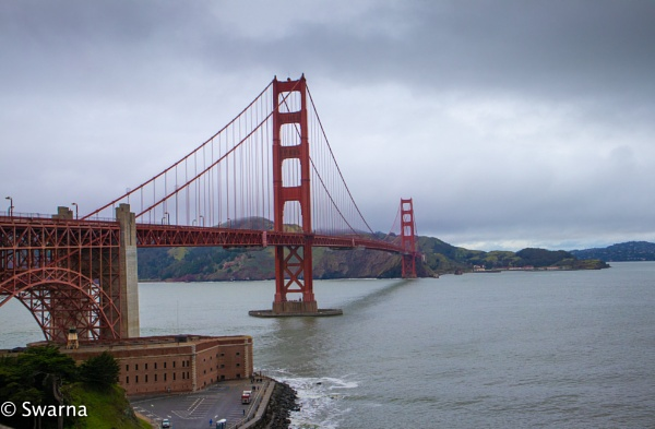 GoldenGate Bridge - SFO by Swarnadip