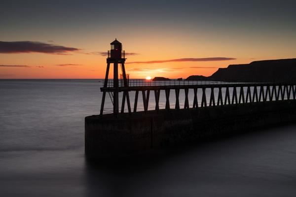 Whitby Sunrise by Trevhas