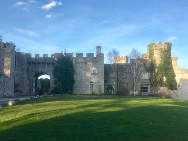 Bodwellan Castle Wales by Digic51