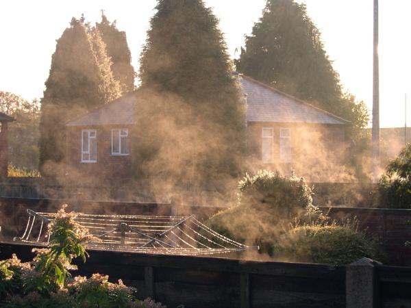 Early morning steam by eddiemat