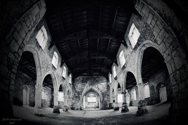 Inside a haunted church by Stu74