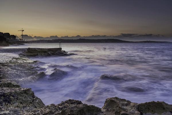 Sunset over St Pauls Bay by IainHamer