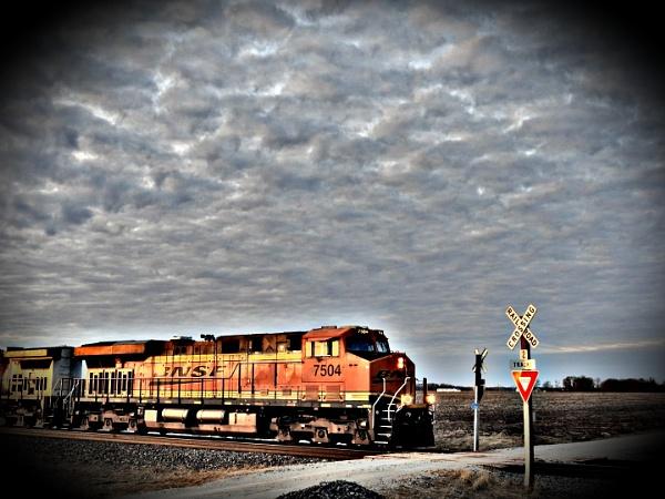 Evening Crossing by photobuff36