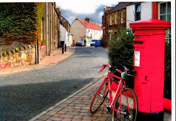 Coldingham Village, Berwickshire. by Pinarellopete
