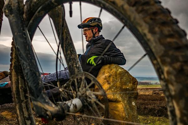 Resting Cyclist by terra