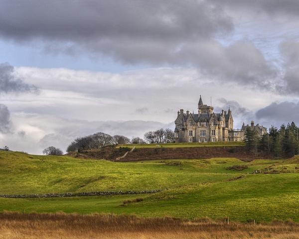 Glengorm Castle by AndrewAlbert