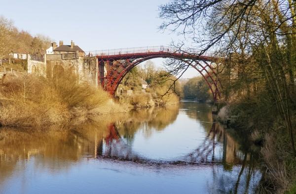 Ironbridge downthe river by mmart