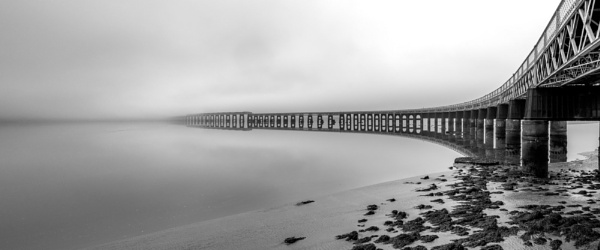 Misty rail bridge by Osool