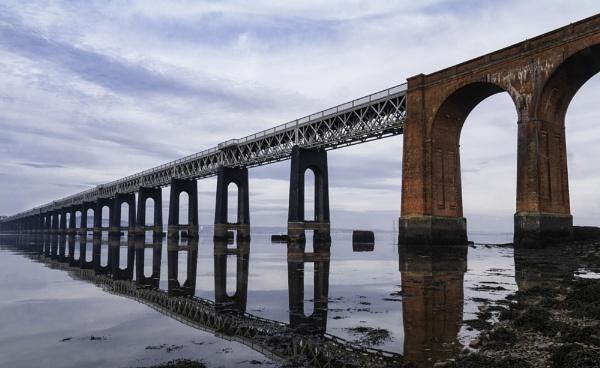 Tay Rail Bridge by scrimmy