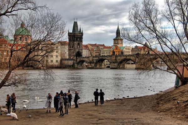 Charles Bridge Prague by Cannon203