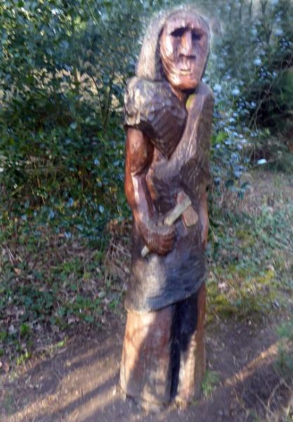 A Wood Man. by Gypsyman