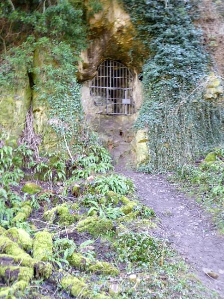 Closed Gateway to Cave by Gypsyman