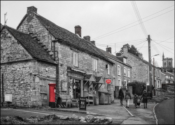Post Office Uley by Kilmas
