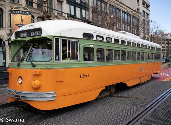 Streetcar - San Fransisco by Swarnadip