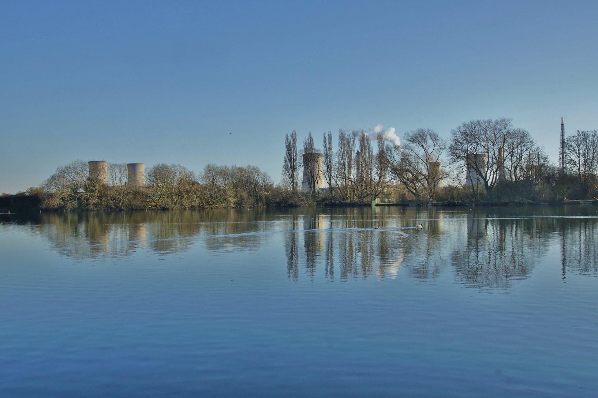Late winter on Charlton's Pond Billingham
