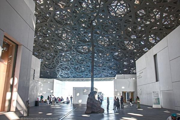Inside the Louvre, Abu Dhabi, UAE  by brian17302