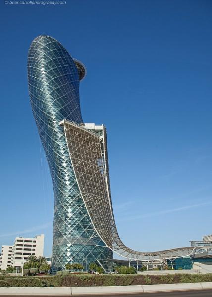 Capital Gate Building, Abu Dhabi, UAE by brian17302