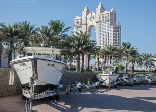 Fairmont Marina Residences (Arch Building) Abu Dhabi marina, UAE by brian17302