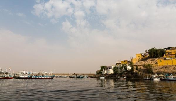 Small harbor on Nile by rninov