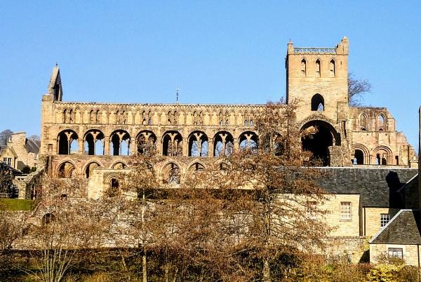 Jedburgh Abbey by shedhead
