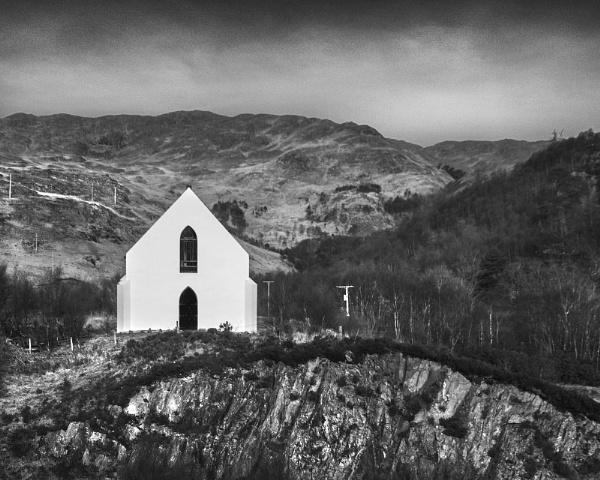 Lochailort Church by AndrewAlbert