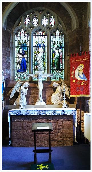 lady chapel ken church Devon by leakiss