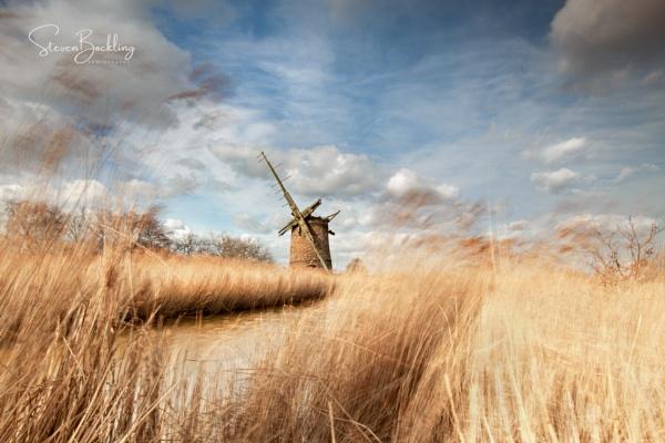 Brograve Mill, Horsey, Norfolk by steve_eb