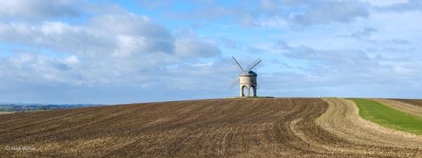 "\""Chesterton Windmill, Warwickshire\"" by Willmer"