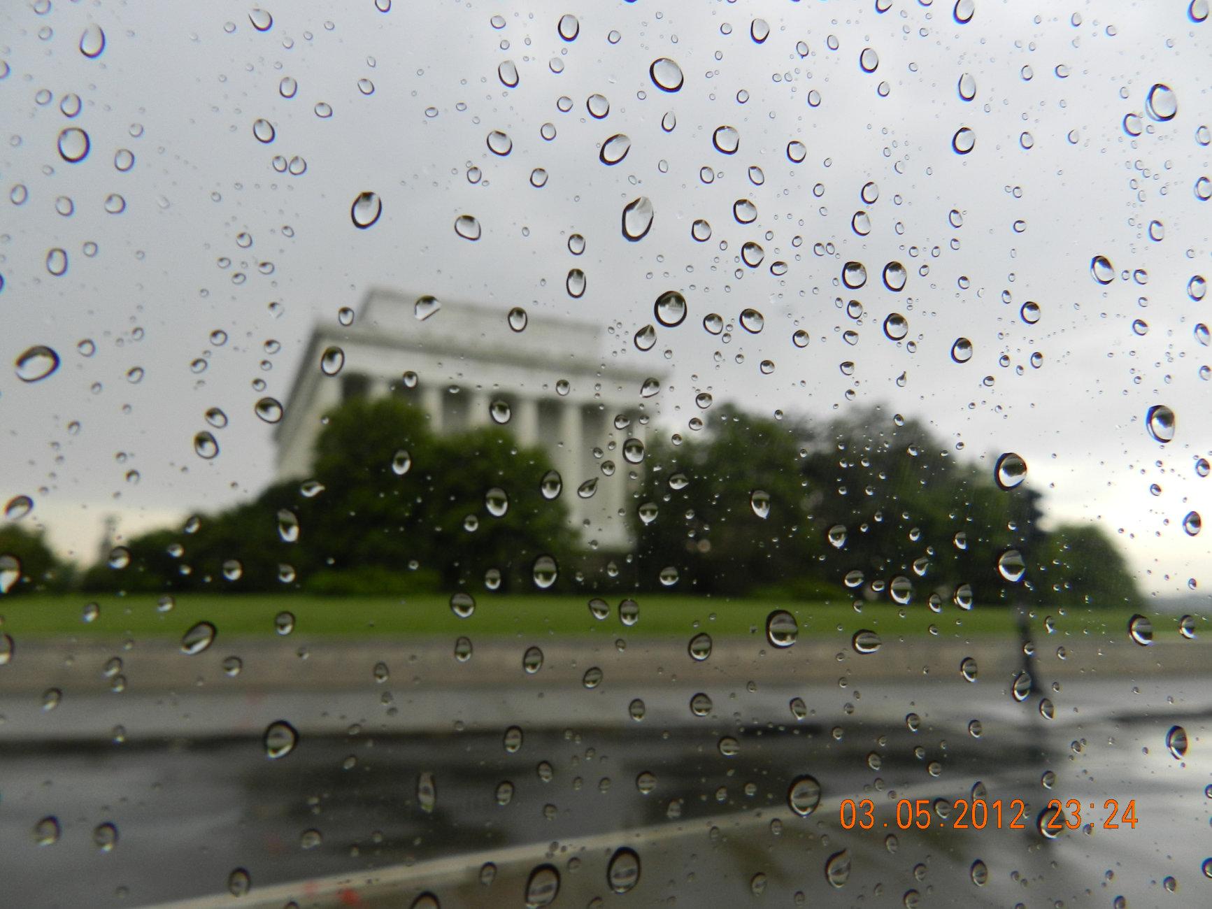 Washington Rainy day