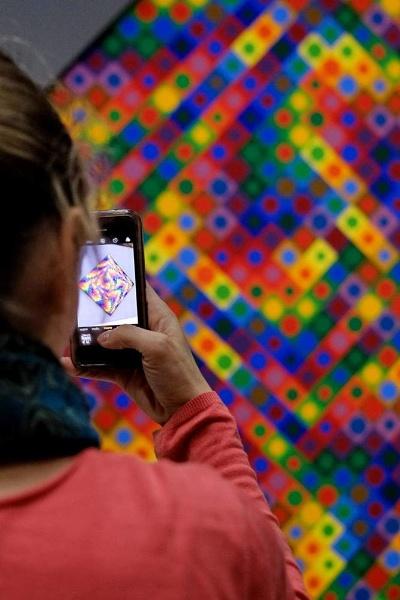 Vasarely exhibition by jeakmalt