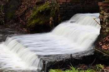 Cascade # Storm drain