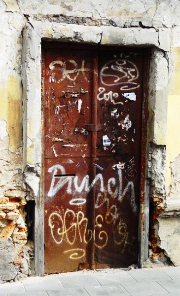 OLD bLOCKED DOOR by SauliusR