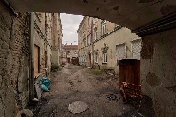 Old Town Courtyard III by LotaLota