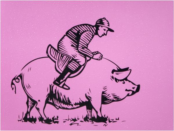 Piggyback rider. by franken