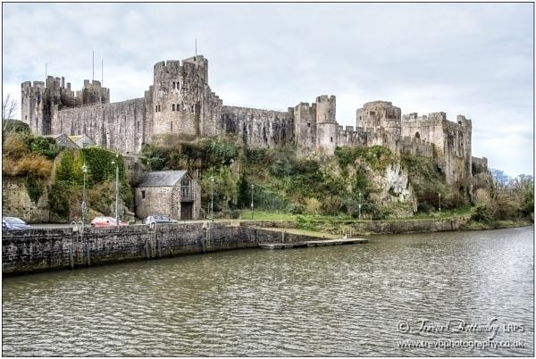 Pembroke Castle by TrevBatWCC