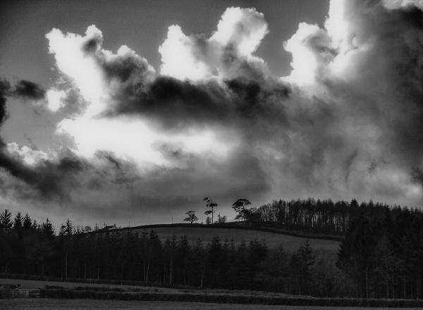 Devon landscape by AnnCourtney