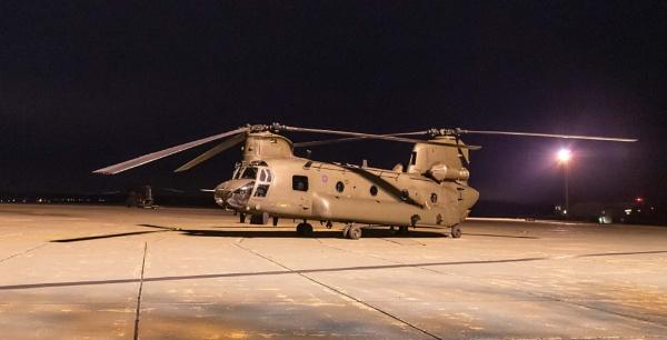 RAF Odiham Chinook by Ray_Seagrove