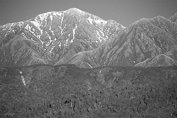 Tararua Range from H.W.1 by paulknight
