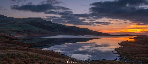 Devoke Sunset by Stumars