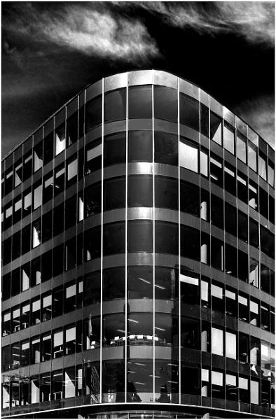 Glass Office Block by mac