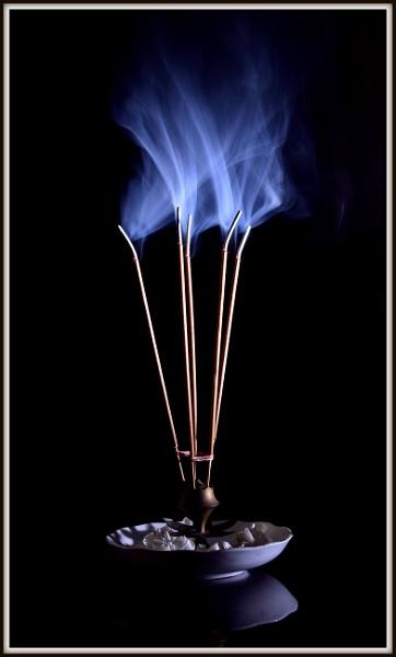 Holy smoke...Holy fragrance... by Manas